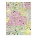 Estado de Oregon Tarjeta Postal