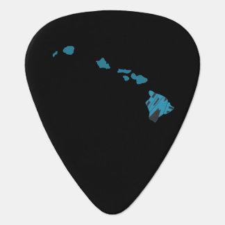 Estado de origen de Hawaii Púa De Guitarra