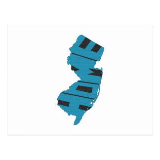 Estado de origen de New Jersey Postal