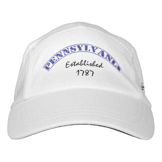 Estado de Pennsylvania establecido Gorra De Alto Rendimiento
