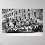 Estado de preparación Parade, 1916 de WWI Poster