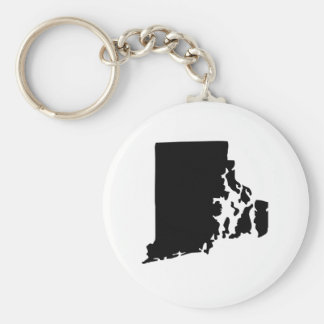 Estado de Rhode Island americano Llavero Personalizado