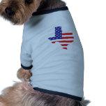 Estado de Tejas Camisas De Mascota