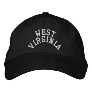 Estado de Virginia Occidental bordado Gorra De Béisbol Bordada