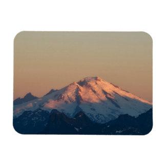 Estado de Washington, cascadas del norte. Panadero Imán Rectangular