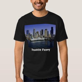 Estado de Washington del transbordador de Seattle Playeras