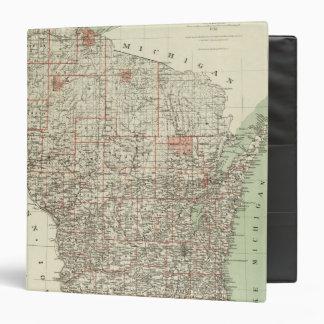 "Estado de Wisconsin Carpeta 1 1/2"""