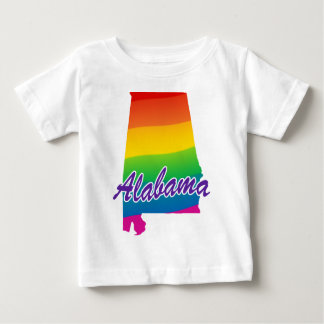 Estado del arco iris de Alabama Camisas