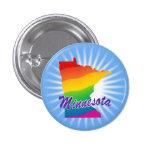 Estado del arco iris de Minnesota Pins