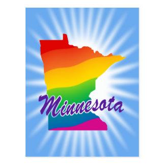 Estado del arco iris de Minnesota Postal