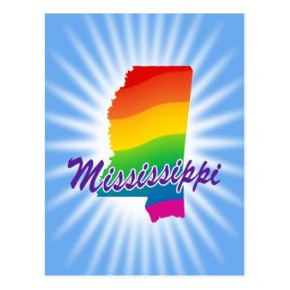 Estado del arco iris de Mississippi Postal