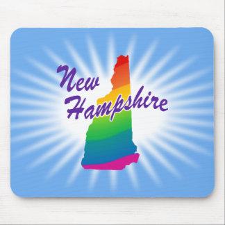 Estado del arco iris de New Hampshire Alfombrillas De Ratones