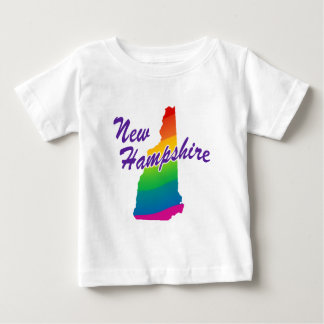 Estado del arco iris de New Hampshire Playera