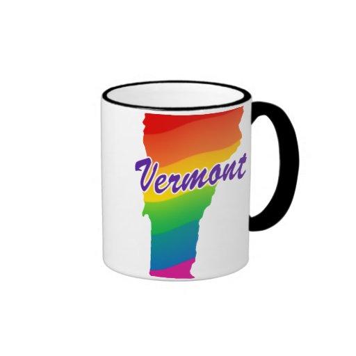 Estado del arco iris de Vermont Taza