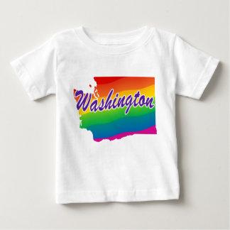 Estado del arco iris de Washington Playera