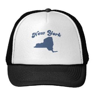 Estado del azul de NUEVA YORK Gorras