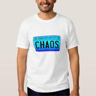 Estado del caos camisas