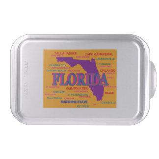 Estado del mapa de la Florida, Miami, Orlando Molde Para Pasteles