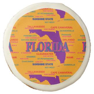 Estado del mapa de la Florida, Miami, Orlando