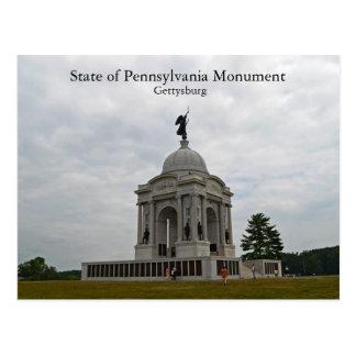 Estado del monumento de Pennsylvania Postal