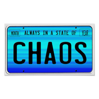 Estado del poster del caos