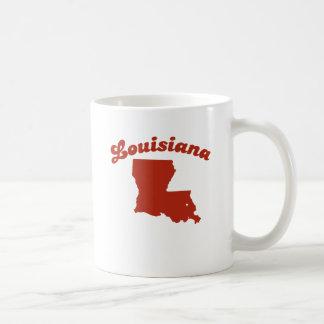 Estado del rojo de LUISIANA Tazas