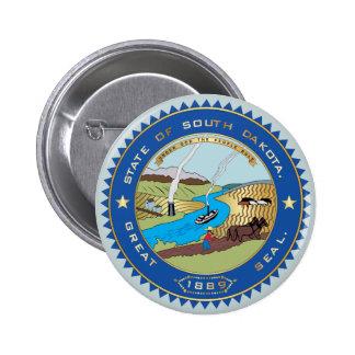 Estado del sello de Dakota del Sur Pins