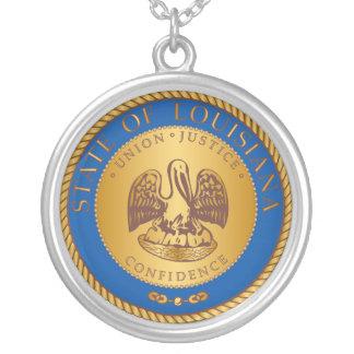 Estado del sello de Luisiana Colgante Redondo