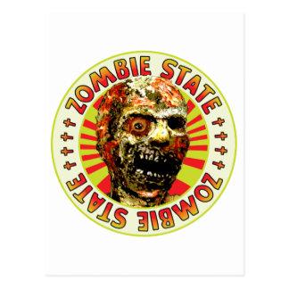 Estado del zombi tarjetas postales