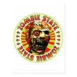 Estado del zombi tarjeta postal