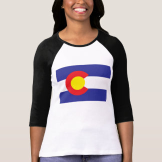 Estado Flag.png de Colorado T Shirt