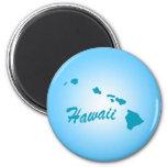 Estado Hawaii Imán De Frigorifico