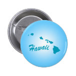 Estado Hawaii Pin Redondo 5 Cm
