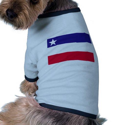 Estado independiente bandera de Okinawa, Japón Camisetas Mascota