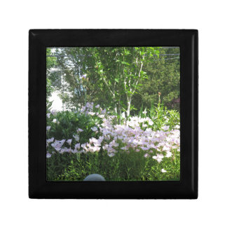 Estado jardín flor de la foto de New Jersey, los Joyero Cuadrado Pequeño