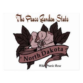 Estado jardín Prarie de la paz de Dakota del Norte Postal