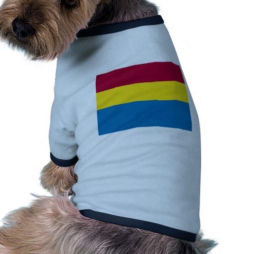 Estado libre de Fiume, Croacia Camiseta Con Mangas Para Perro