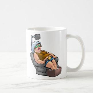 Estado mental taza de café