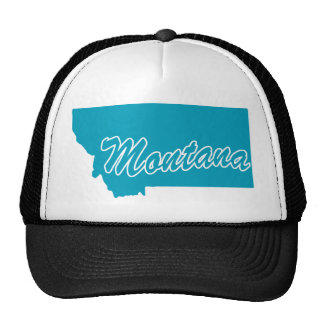 Estado Montana Gorros Bordados
