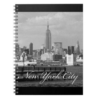Estado New York City del imperio Cuaderno