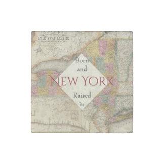 Estado Nueva York de B&R Imán De Piedra