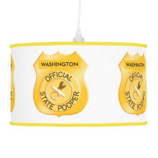 Estado oficial Pooper Lámpara De Techo