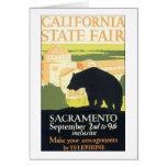 Estado Sacramento justa de California Tarjetón