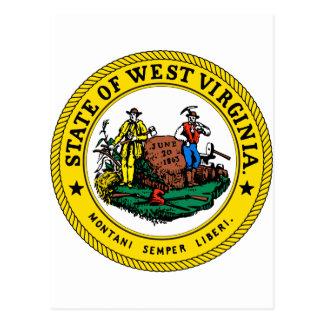 Estado Virginia, los E.E.U.U. Tarjeta Postal