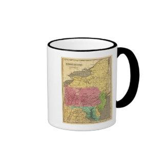 Estados 3 del centro tazas de café