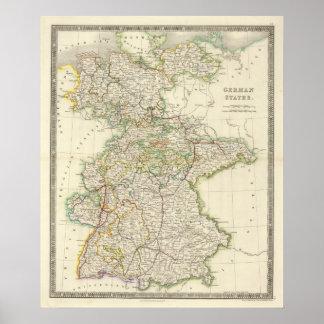 Estados alemanes poster