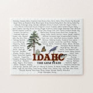 Estados americanos - rompecabezas de Idaho