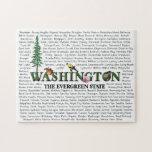 Estados americanos - rompecabezas de Washington