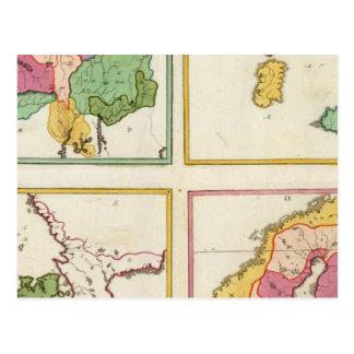 Estados bálticos postales