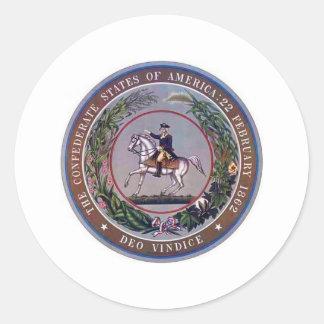 Estados confederados del sello de América